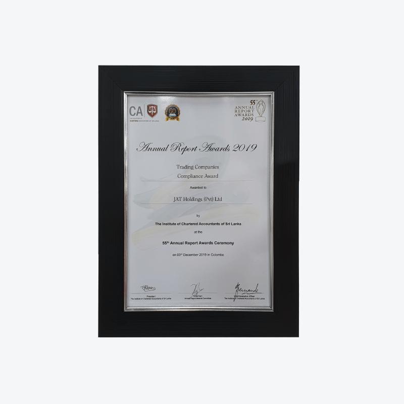 Annual Report Award 2019