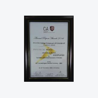 Annual Report Award 2016