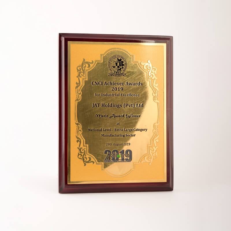 CNCI National Merit Award for Industrial excellence  JAT Holdings