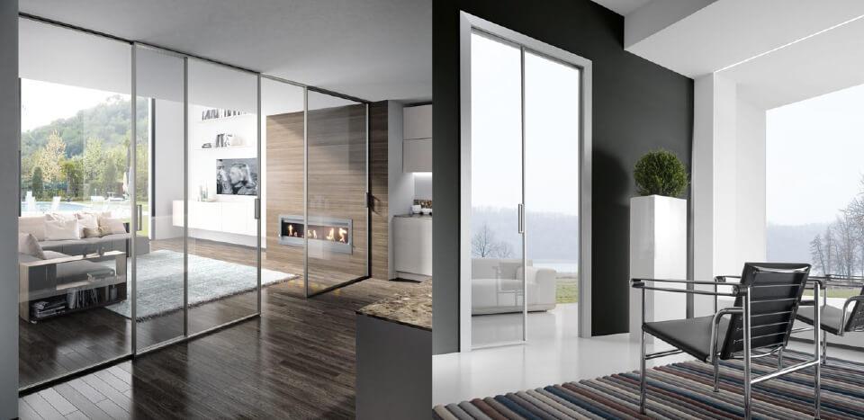 A modern living room design