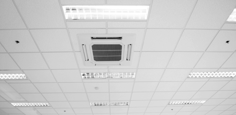 Ceiling vent with lights