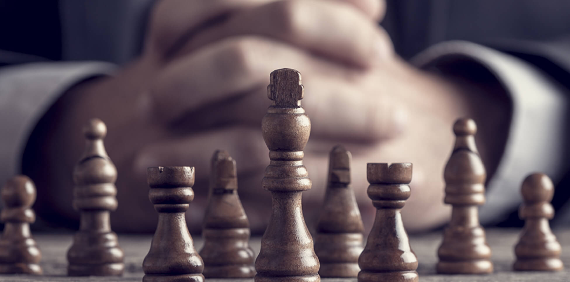 Business Chess Strategy image