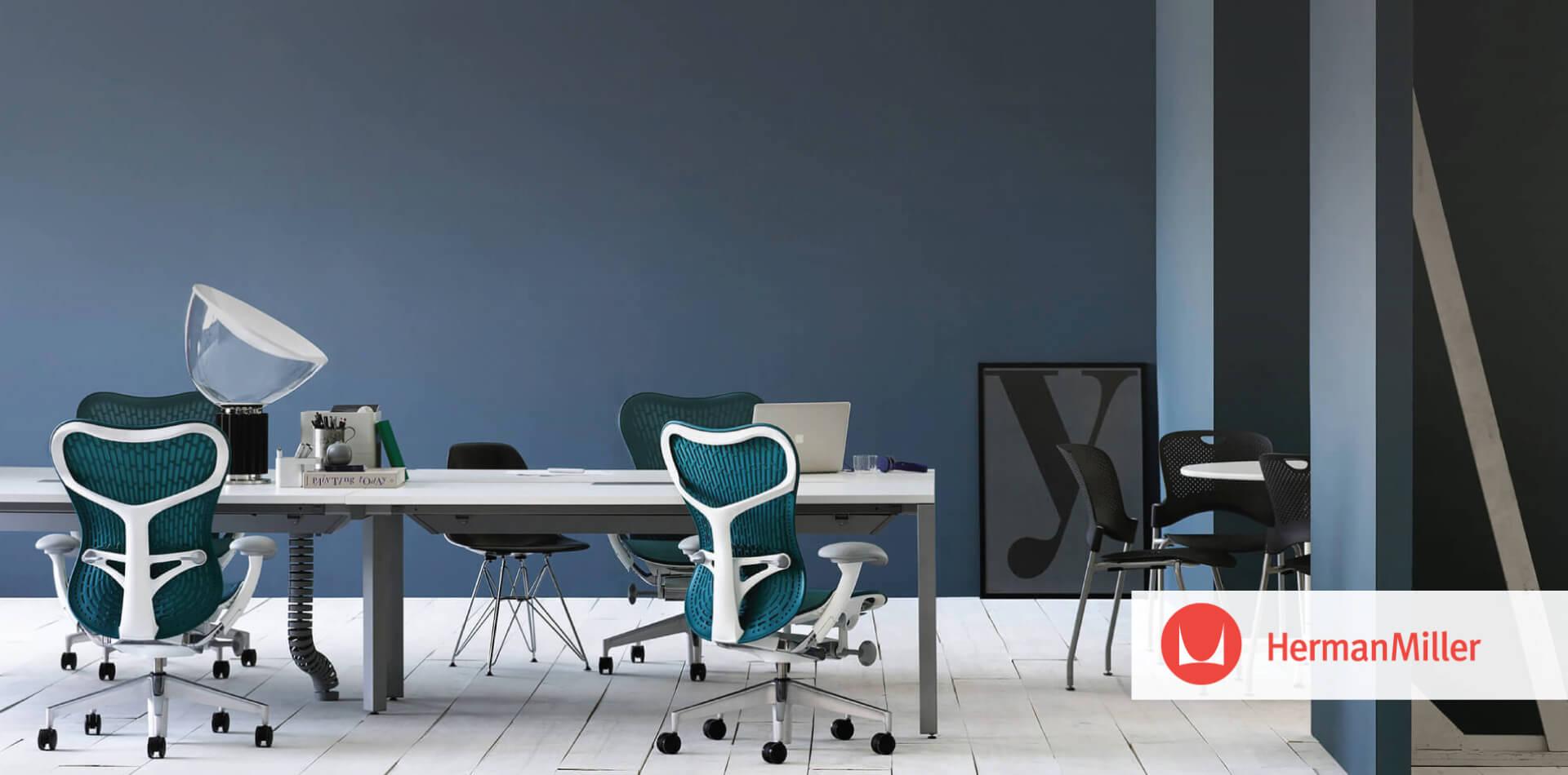 Modern workplace interior design