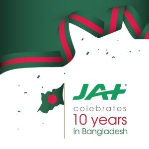 JAT celebrates 10 years in Bangladesh