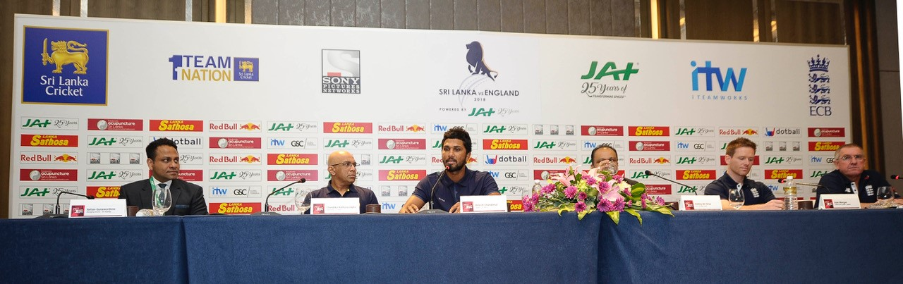 JAT HOLDINGS SPONSORS ENGLAND'S CRICKET TOUR OF SRI LANKA