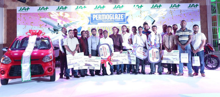 JAT REWARDS WINNERS FROM THE 'AMAZING GIFTS FOR EVERYONE' PROMOTION AND ITS LOYAL DEALERS