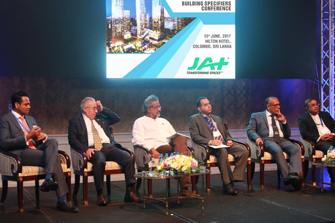 JAT SPONSORS SECOND BUILDING SPECIFIERS' CONFERENCE 2017