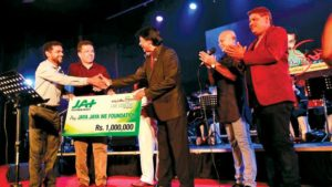JAT TECHNOLOGIES DONATED RS. ONE MILLION TO THE AADARANEEYA PRINCE CONCERT
