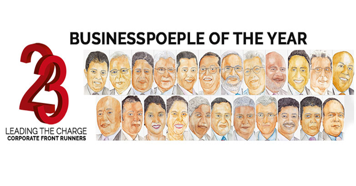 AELIAN GUNAWARDENE SELECTED AS ONE OF LMD'S BUSINESSPEOPLE OF THE YEAR 2017