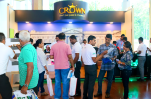 CROWN PAINTS ENJOYS SUCCESSFUL REIGN AT CONSTRUCTION EXPO 2017