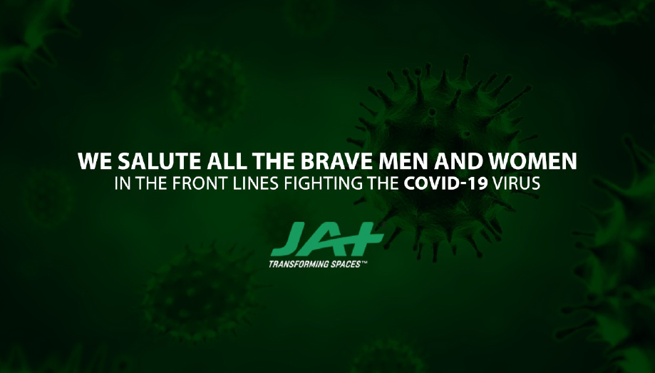 JAT Holdings saluting people fighting COVID 19
