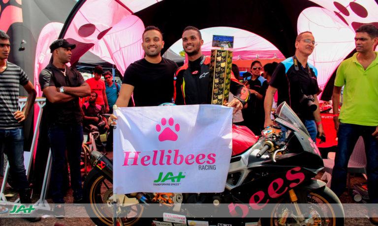 JAT Holdings Sponsors Hellibees Racing