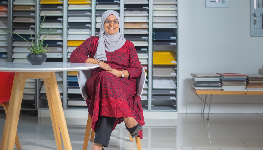 Rizna Dilshard: The importance of a support system for a woman to succeed