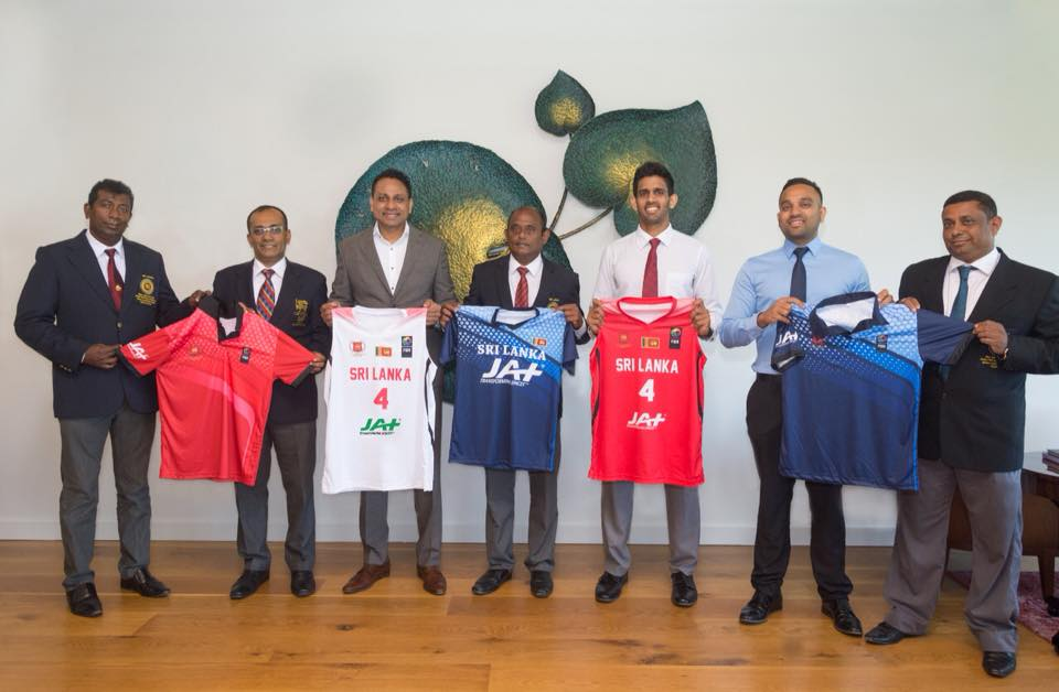 Sri Lanka ballers get JAT Support