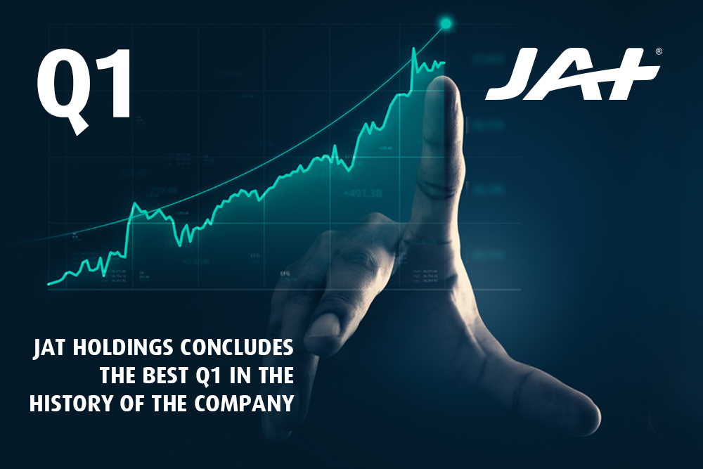 JAT Holdings displays outstanding performance, recording the best Q1 in company history