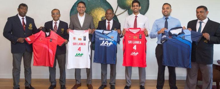 JAT Holdings sponsoring Sri Lanka Basketball team