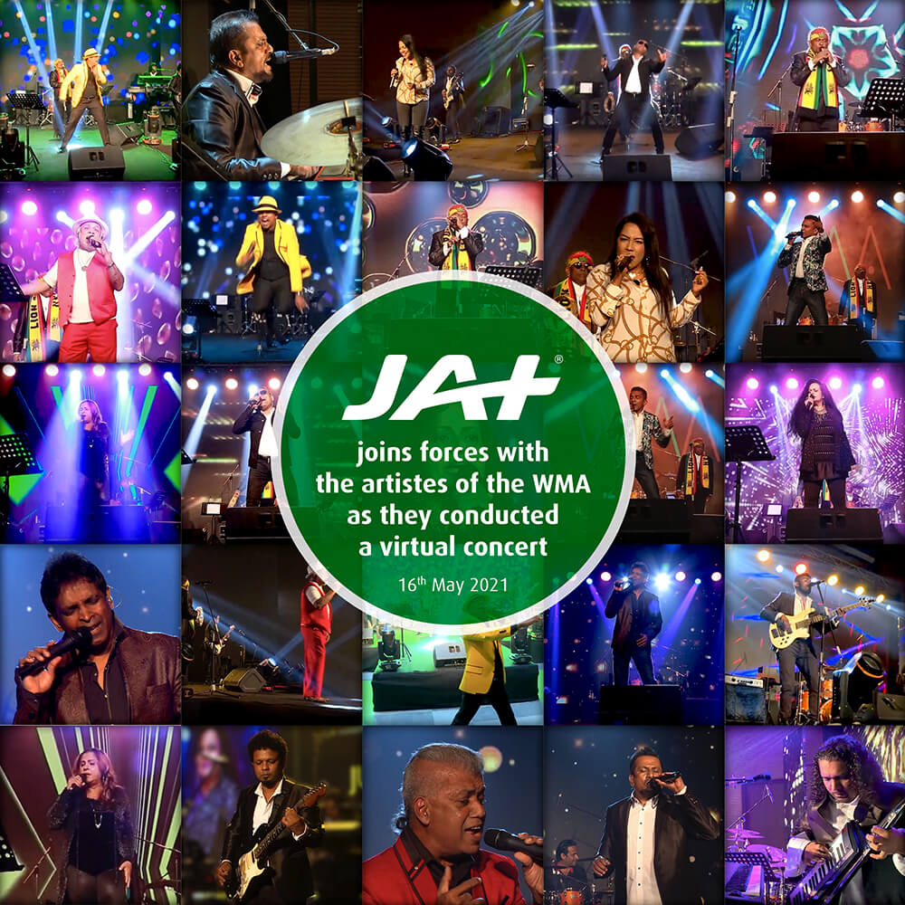 JAT Holdings supports artistes in times of adversity