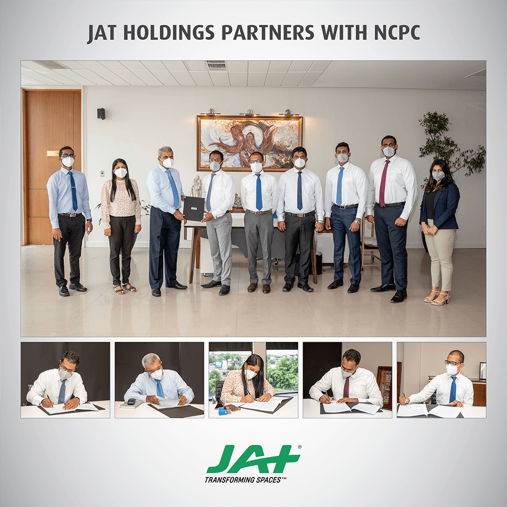 JAT Holdings partners with NCPC to implement the Eco-Innovation Project