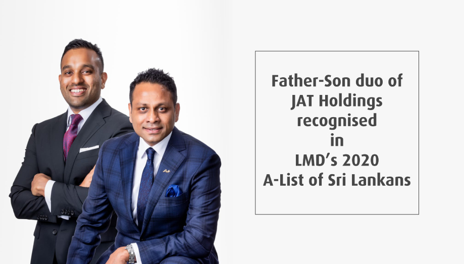 JAT's father-son duo recognised in LMD's 2020 A-List