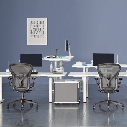 HermanMiller furniture company logo