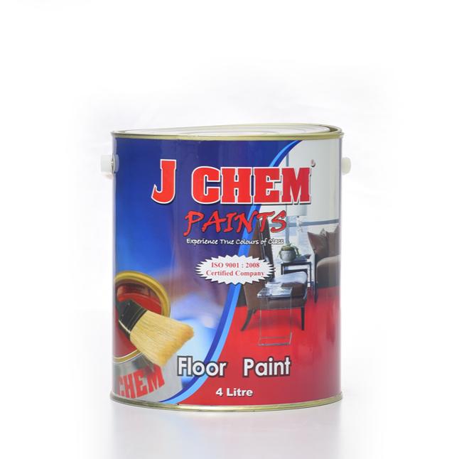 J Chem Floor Paint( Red/ Black/ Brown/ Grey)