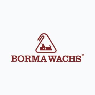 BORMA WACHS wood professional cosmetics Logo