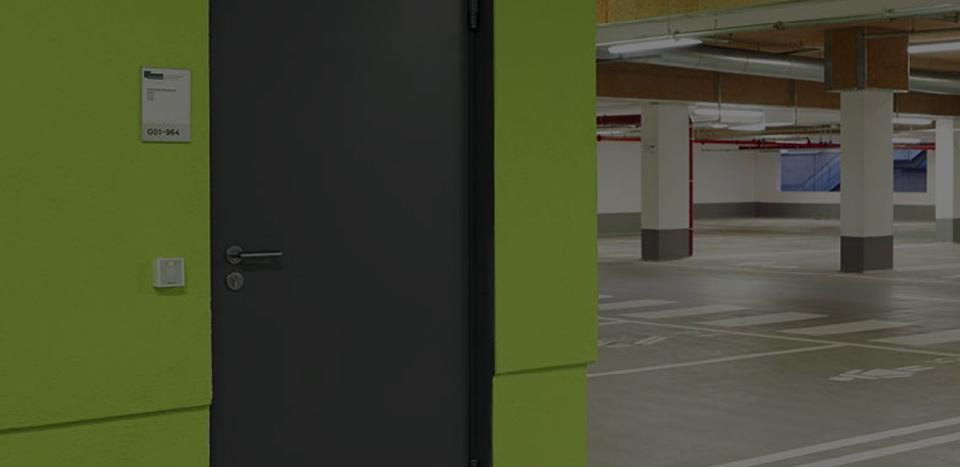 Exterior fireproof emergency fire steel safety door