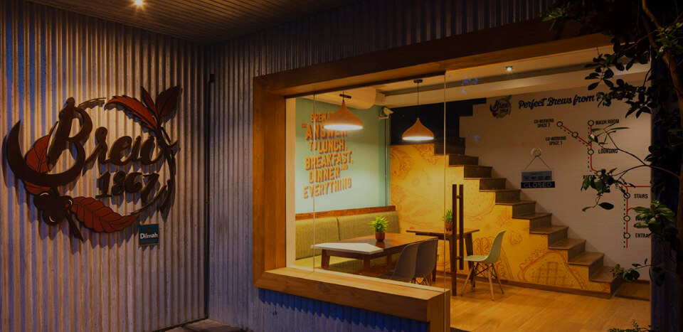 Brew 1867 by dilmah furnished by JAT Holdings