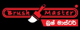 BrushMaster paint brush logo