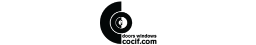 Cocif doors windows logo
